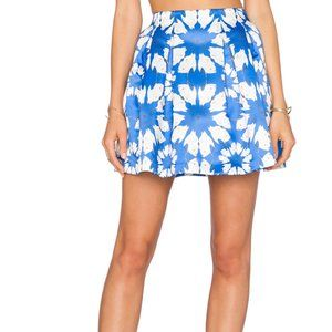 Alice & Olivia Daisy Crane Connor Skirt